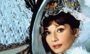 Audrey Hepburn as Eliza Doolittle in the film version of My Fair Lady